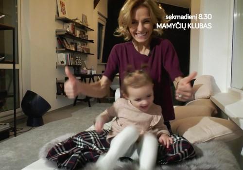 Ką matysite laidoje šį sekmadienį: vaiko mityba nuo 1 metų, kūdikių gestų kalba, kuo skalbti vaikų drabužius?