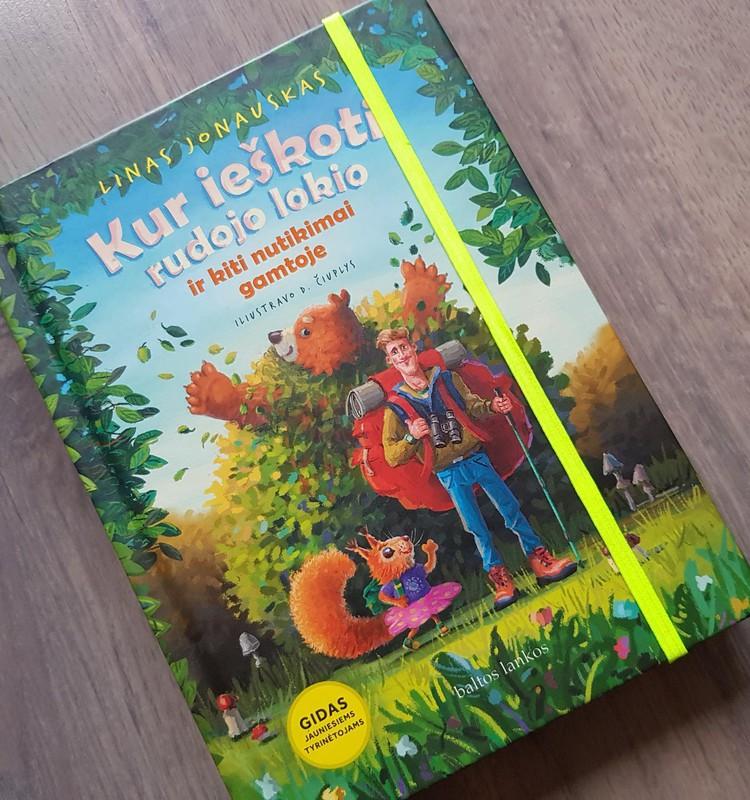 Knyga - gidas jauniesiems gamtos tyrinėtojams