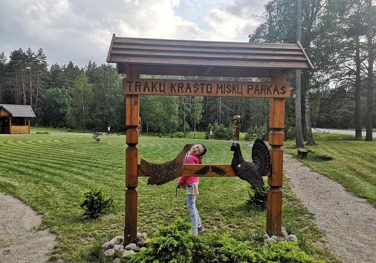 Trakų krašto miškų parkas