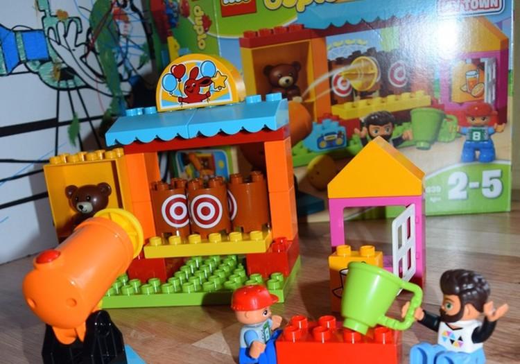 """Lego Duplo """"Šaudymo Galerija"""" iš serijos """"Mano Miestas"""""""