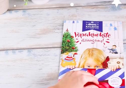 """MAXIMA leidinyje """"Išpakuokite džiaugsmą"""" - dovanos ir smagios užduotėlės"""