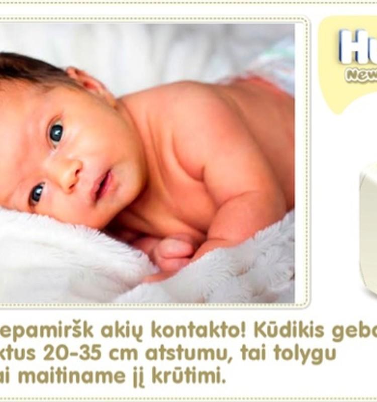 KOLIAŽAS: 2-oji savaitė su Huggies® Newborn!