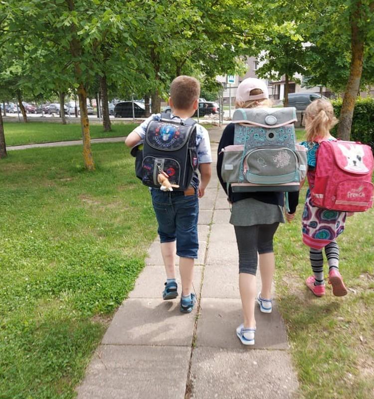 Augustės dienoraštis: bebaigiant 1-ąją klasę