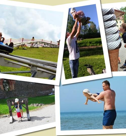 Tėčių ir vaikų meilė: fotoakimirkos