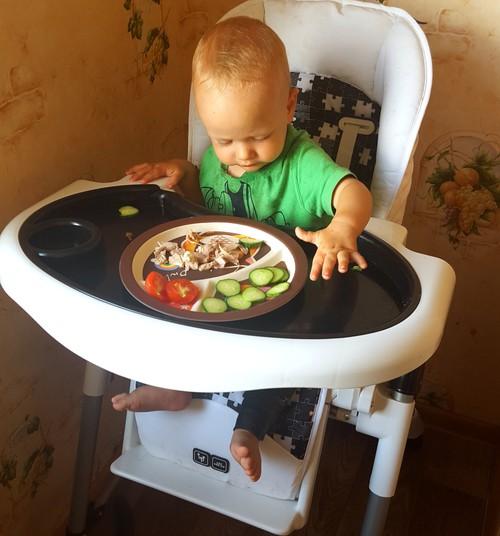 Savarankiško valgymo pamokos su ABC DESIGN HIGH TOWER maitinimo kėdute