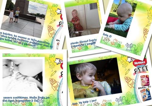 Huggies® Star: mažylių pasiekimai ir II savaitės laimėtoja