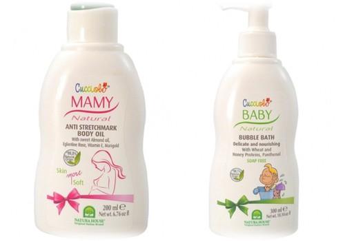 Baby CUCCIOLO ir Mamy CUCCIOLO produktus testuoja...