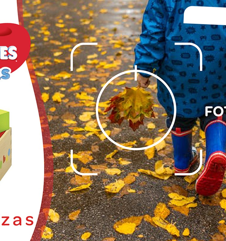 """FOTO konkursas: """"Pirmieji mažylio žingsniai rudenį""""!"""