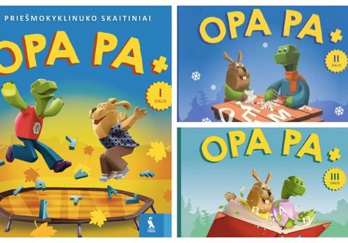"""Kas laimi skaitinių komplektą """"OPA PA"""""""