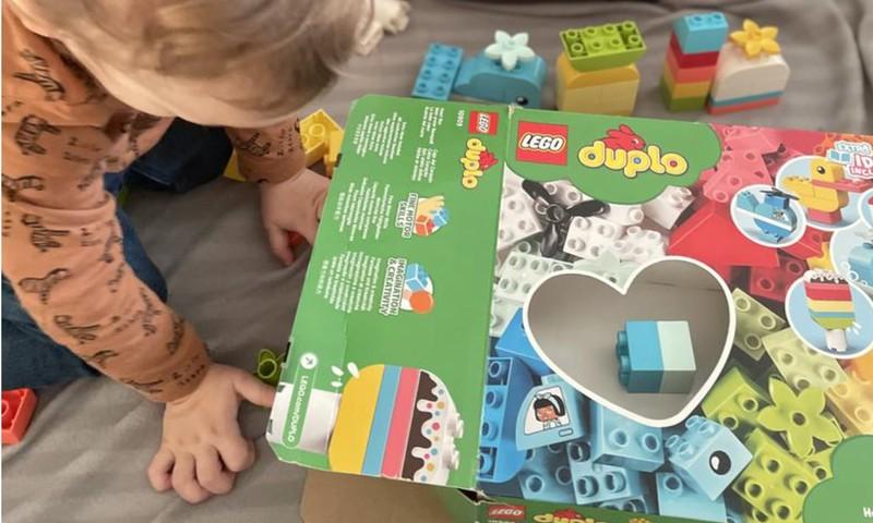 LEGO® DUPLO® Heartbox - savarankiškam žaidimui