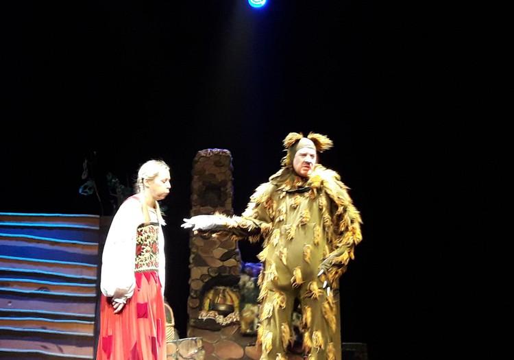 Raganiukės teatro spektaklis ,, Mergaitė ir lokys,,