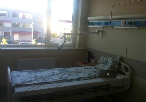 Godos nėštumo blogas: ligoninėje