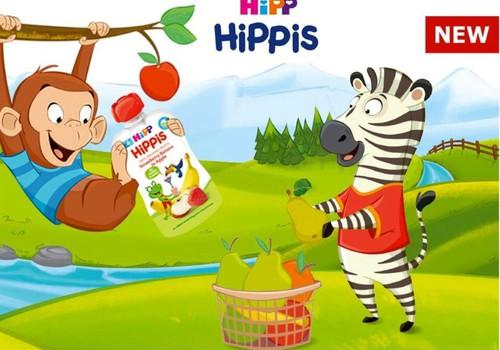 HiPP HiPPis – bene gardžiausias skanėstas iš vaisių!