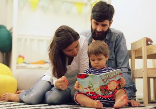 Kodėl svarbu skaityti vaikui nuo gimimo?