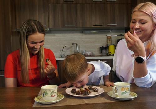 """VIDEO """"Gaminame su vaikais"""": desertas be cukraus"""