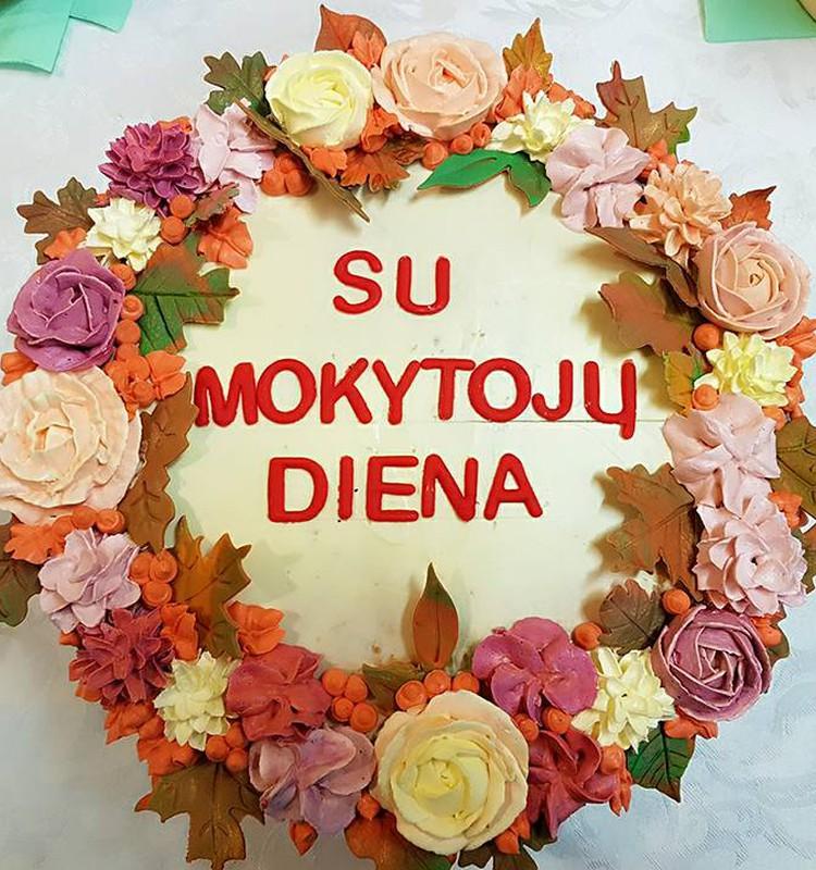 Su Mokytojų diena!!!