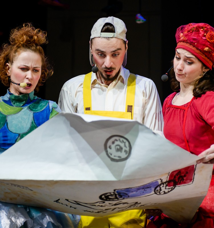 Vilniaus mažasis teatras kviečia žiūrėti interaktyvius spektaklius vaikams