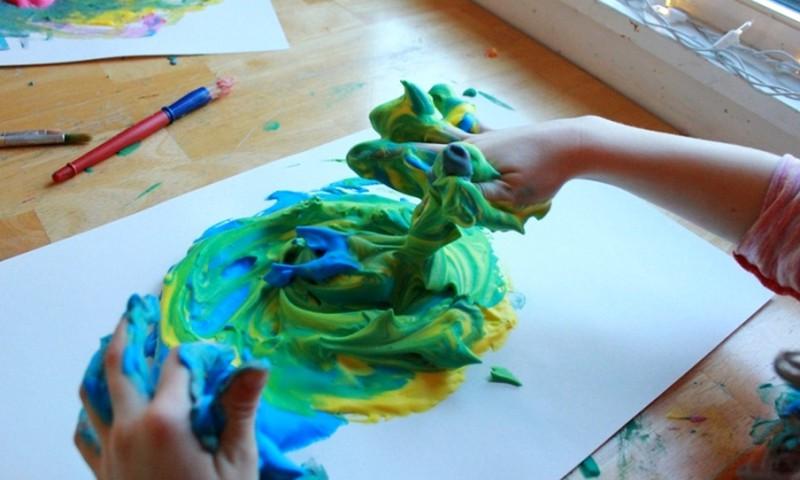 """Menų studija """"Sniego Liūtas""""  3-4 metų vaikams"""
