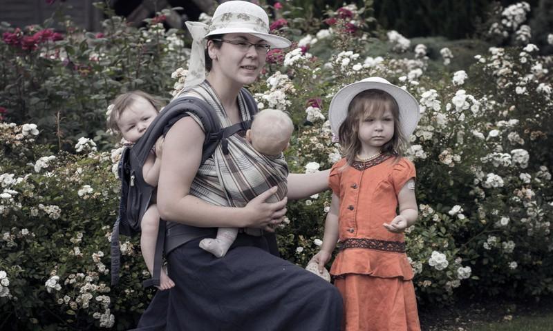 Mokomės namuose arba motinystės pamokos