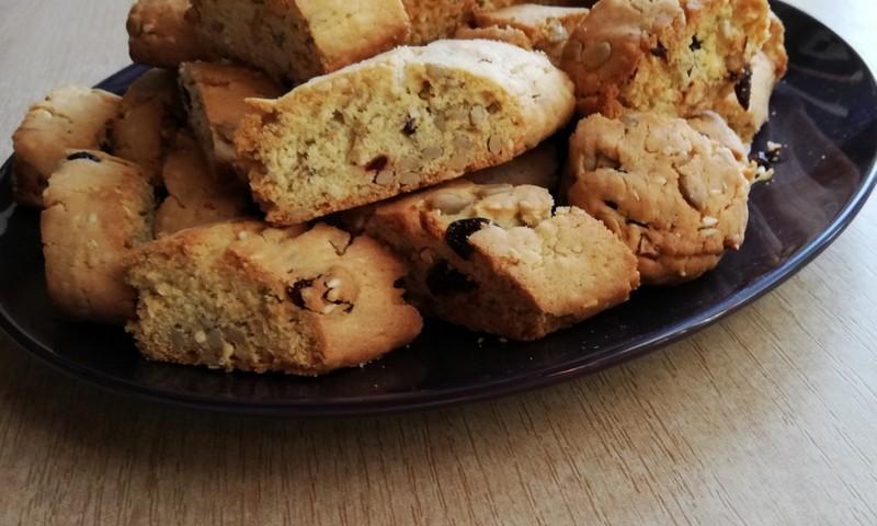 TOKIA MŪSŲ KASDIENYBĖ. Itališki sausainukai Biscotti