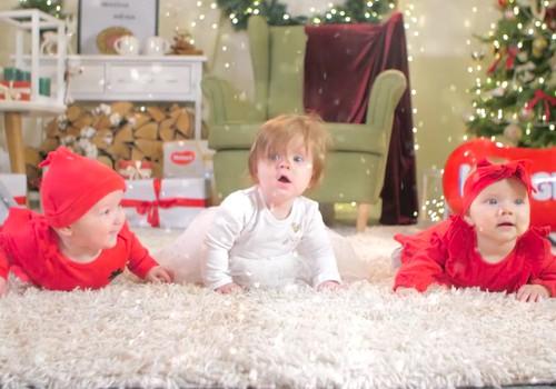 Jaukių šv.Kalėdų jums linki Mamyčių klubas ir Huggies®!