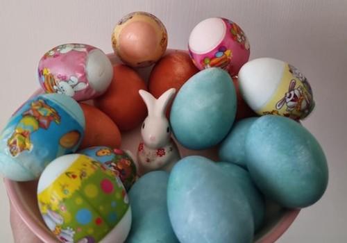 Pramogaujame margindami kiaušinius