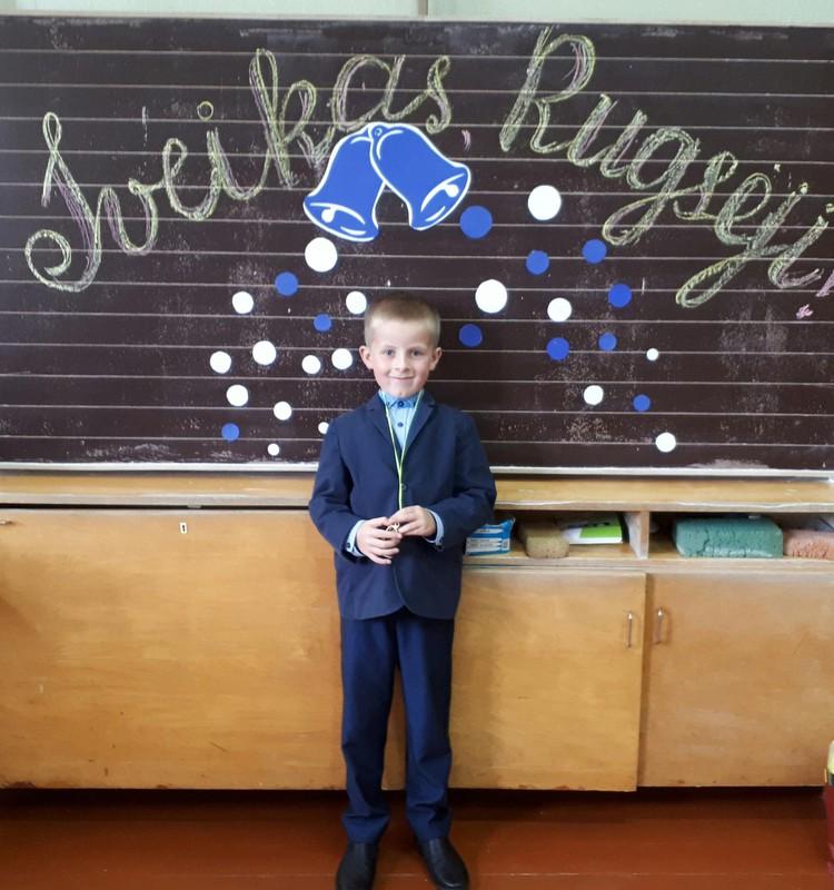 Pirmoji Arno savaitė mokykloje