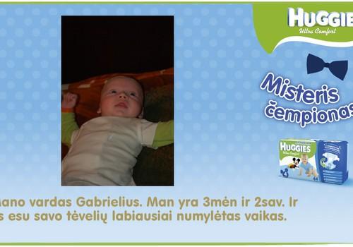 Mūsų mažasis misteris Gabrielius