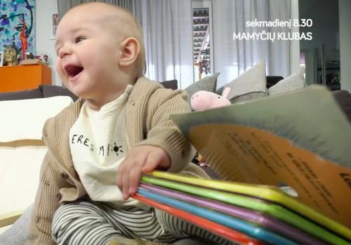 Ką matysite laidoje šį sekmadienį: ragaujame grūdines košes, sportuojame su kūdikiu, ugdome meilę knygoms