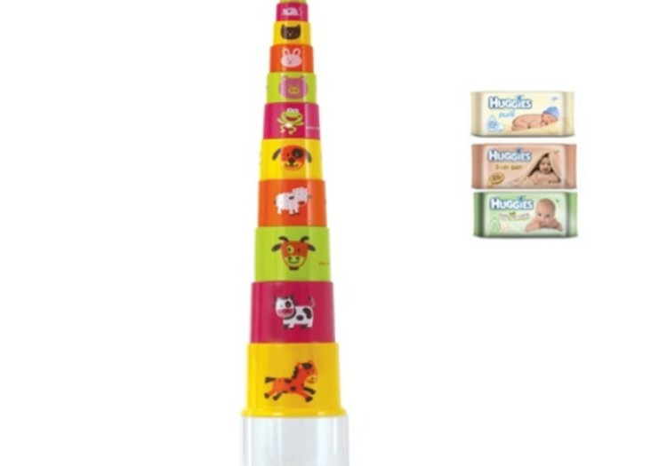 Birželio 24 d. - Huggies loterijoje dovanosime Gowi piramidę!
