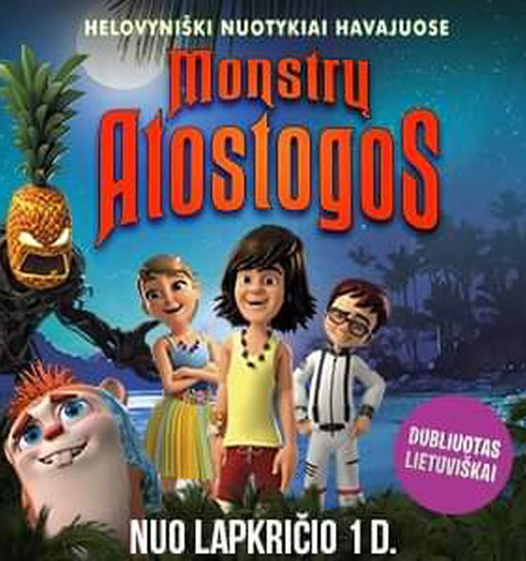 Animacinis filmukas ,,Monstrų atostogos''