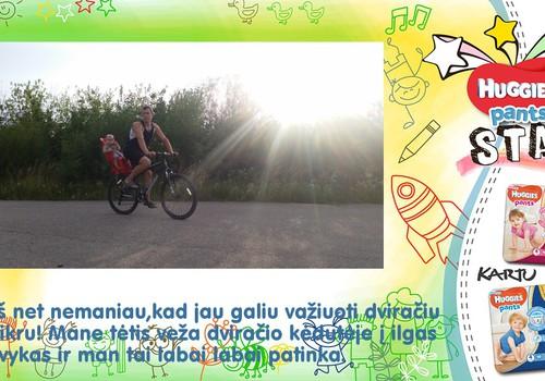 Meilė Jonė ir dviratis