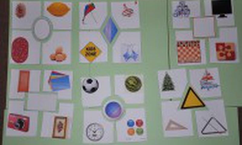 Mokomės geometrinių figūrų
