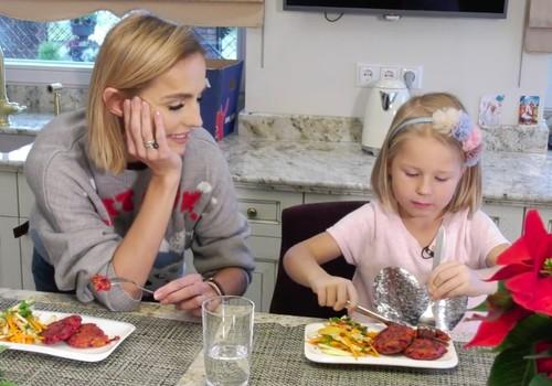 VIDEO: Kūčioms ar Kalėdoms- burokėlių kotletukų su salotomis receptas