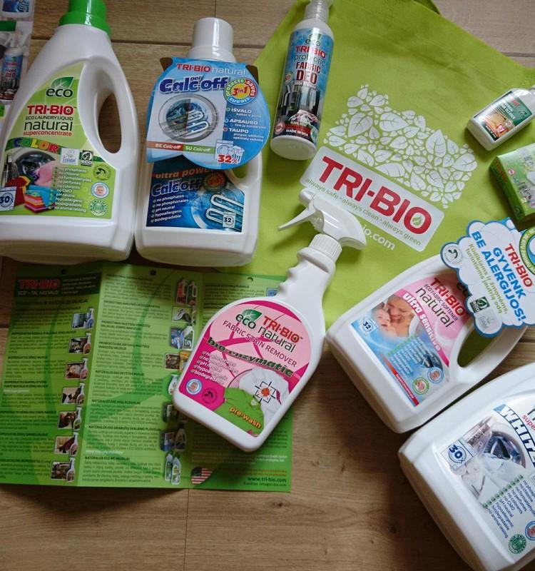 """TRI-BIO gaminių apžvalga: natūralus eko skystas drabužių skalbiklis """"Color"""""""