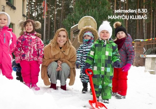 Basomis ant sniego ir kiti natūralūs būdai stiprinti imunitetą - šio sekmadienio laidoje!