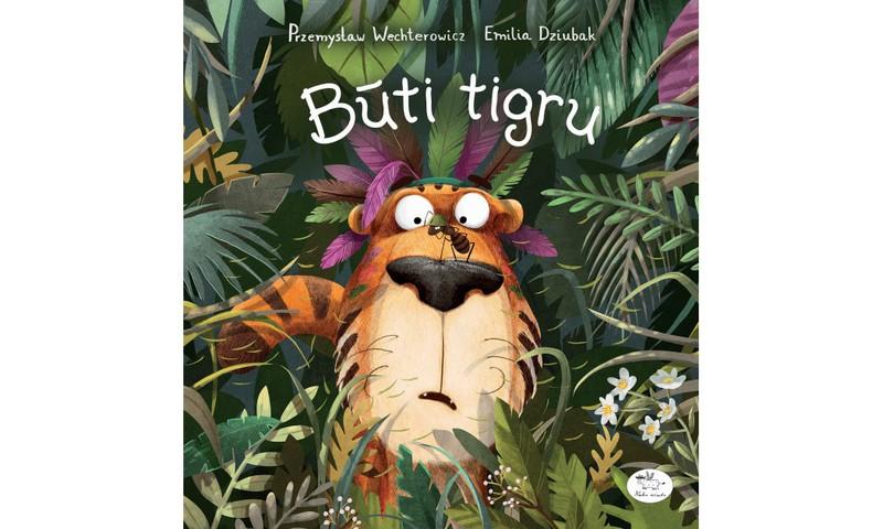 """Laimėk knygą """"Būti tigru""""!"""
