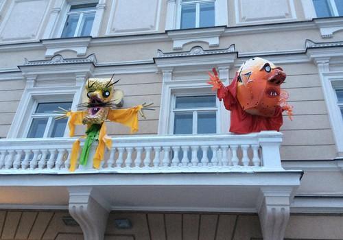 Šiandien - UŽGAVĖNIŲ šėlsmas Vilniaus mokytojų namų kiemelyje