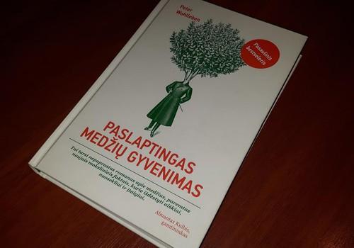 """Apie knygą Peter Wohlleben """"Paslaptingas medžių gyvenimas"""""""