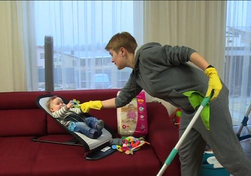 Kaip ir kuo valyti namus bei žaislus, kad nepakenktume mažyliui?