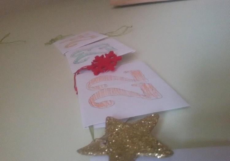 Kūrybos kambarys: Kalėdų laukimo kalendorius vaikams.