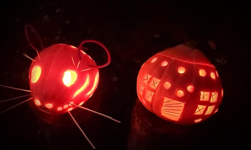 Helovino grožybės