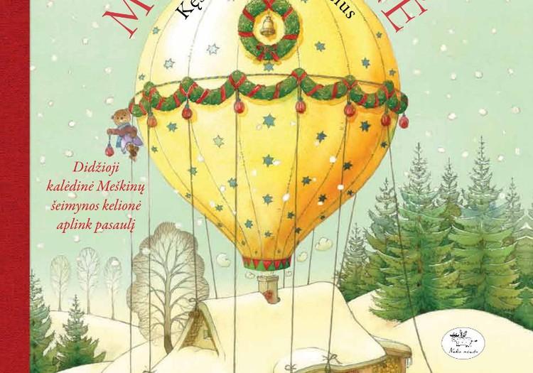 Meškiukas bibliotekoje: Naujausios kalėdinės knygos