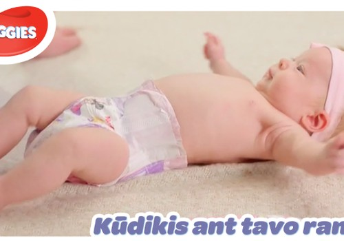 """""""Kūdikis ant tavo rankų"""": keičiame sauskelnes"""