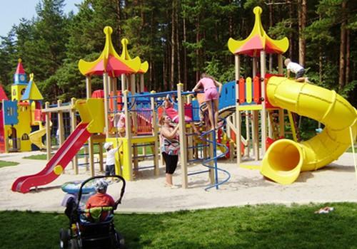 Palangos Vaikų parke pramogautojų netrūksta