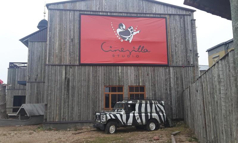 Lankomės Cinevilla - kino miestelyje Latvijoje