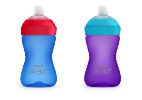 """""""Philips Avent"""" kramtymui atsparų puodelį su snapeliu išbandys 5 mažyliai"""