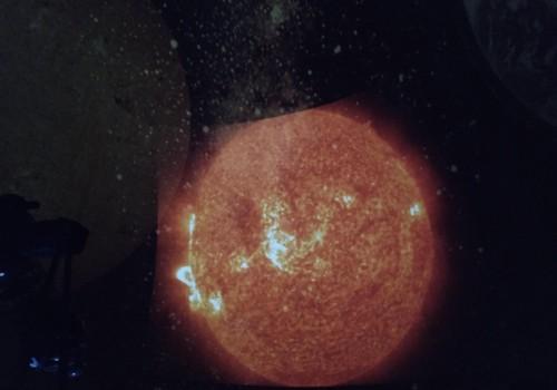 Planetariumas- Kaip šildo saulė