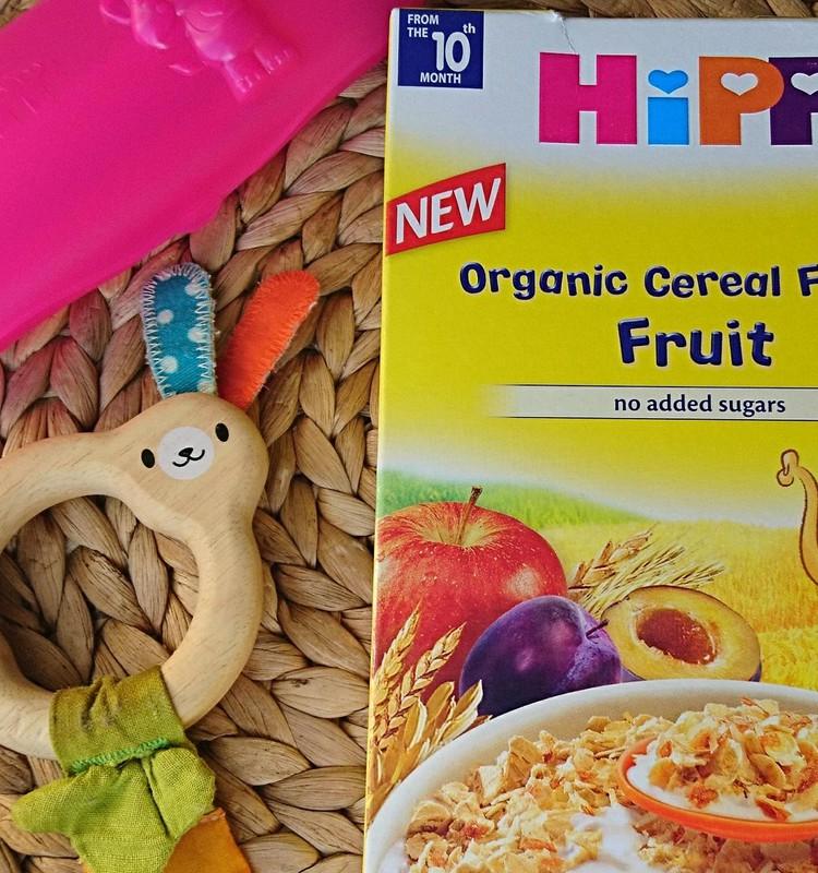 Hipp ekologiškų dribsnių su vaisiais apžvalga