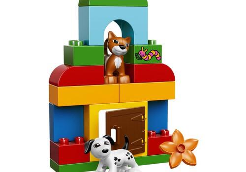 """Kas laimi LEGO DUPLO dovanų rinkinius """"Viskas viename""""?"""